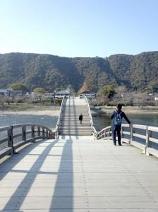 なが〜い橋です。
