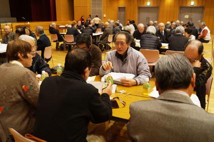 各グループとも積極的に意見の交換が行われました。