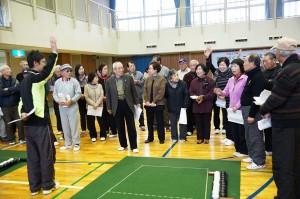 播磨町シニア連では囲碁ボールが盛んに行われています