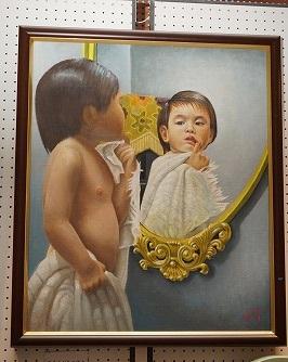 美しい絵画も展示されていました
