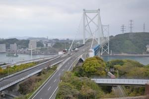関門海峡を上から展望できる「和布刈公園」