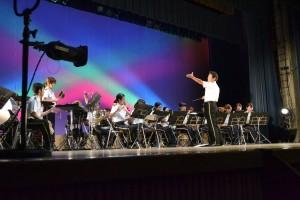 指揮者の方がかっこよく撮れました!