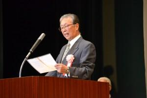 石田副会長による大会宣言
