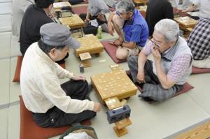 【西区】将棋も白熱