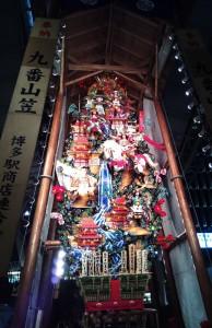 博多駅にも飾り山