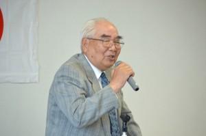 原川新会長の挨拶