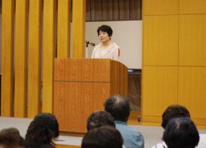川島委員長のあいさつ