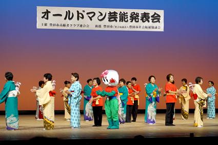 ステージの中心で元気に踊るこの子、誰だか分かりますか?