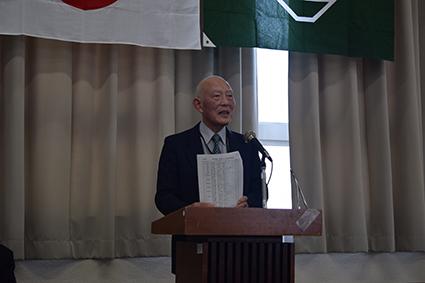 新しく会長に就任された近藤会長