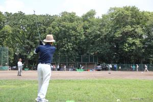 ボールの打ち方