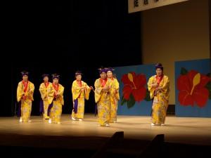 沖縄の舞踊も!大道具も登場
