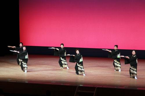 中野区代表のステージ