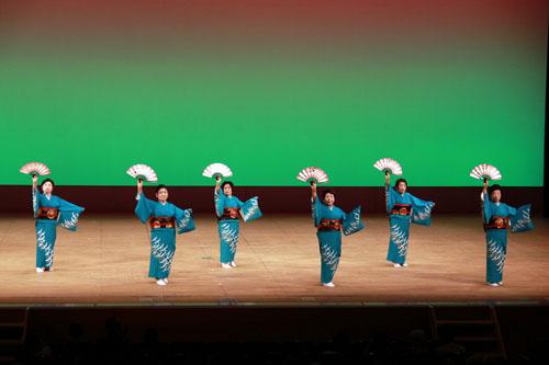 品川区代表のステージ