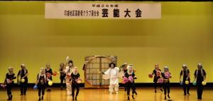 独特のリズムと音楽で魅了した玉一豊寿会(成田市)