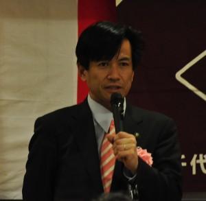 秋葉八千代市長による祝辞