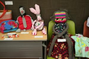 個性溢れるお人形たち